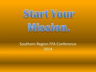 Southern  Region FFA Conference 2014