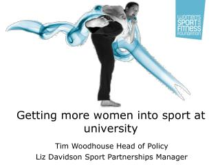 Getting more women into sport at university