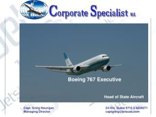Boeing 767 Executive