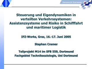 Gliederung: 1. Fragestellung, These  2. Containerschifffahrt 3. Feldforschung