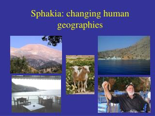 Sphakia: changing human geographies