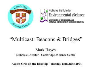 """Multicast: Beacons & Bridges"""
