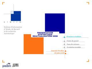 Système d'information d'Etude, de Recueil  et de recherche  Automatique