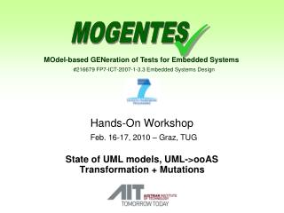 Hands-On Workshop Feb. 16-17, 2010 – Graz, TUG