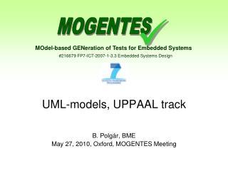 UML-models, UPPAAL track