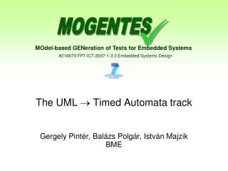 The UML   Timed Automata track