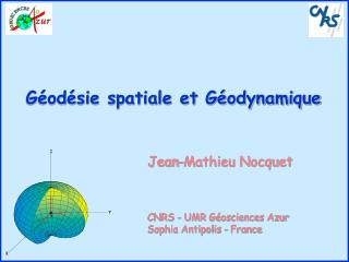 Géodésie spatiale et Géodynamique