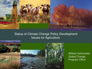 William Hohenstein Global Change Program Office