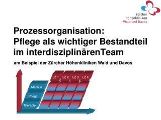Prozessorganisation:  Pflege als wichtiger Bestandteil im interdisziplinärenTeam
