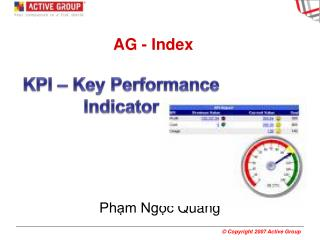 AG - Index