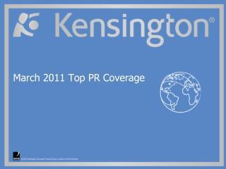 March 2011 Top PR Coverage