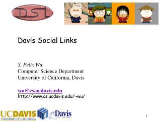Davis Social Links