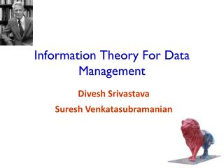 Information Theory For Data Management
