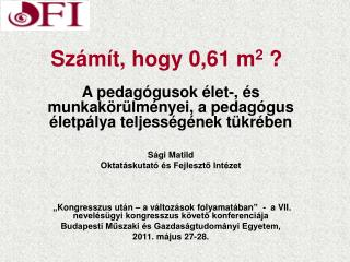 Számít, hogy 0,61 m 2  ?