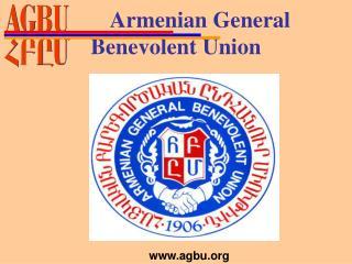 Armenian General    Benevolent Union