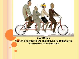 LECTURE 8 modern  organizational techniques to improve the profitability of  pharmacies