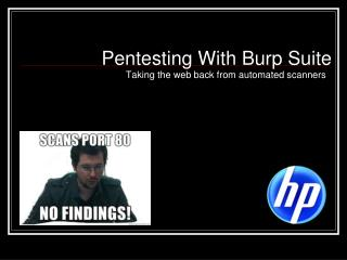 Pentesting With Burp Suite