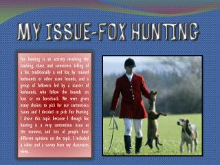 Home News Top Stories Illegal fox hunting 'not a priority' for police B y Bob Roberts 16/05/2009