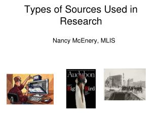 Types of Sources Used in Research