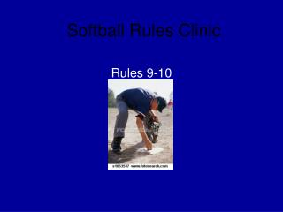 Softball Rules Clinic