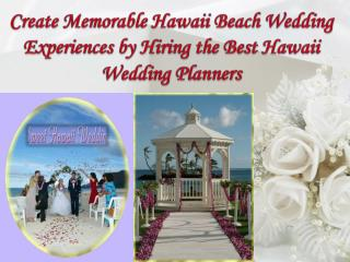 Best Hawaii Wedding Planners