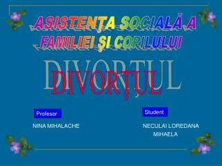 DIVORŢUL