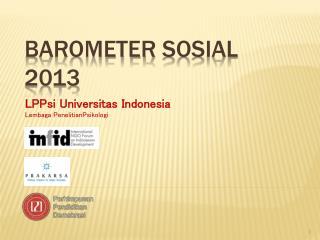 Barometer  Sosial  2013