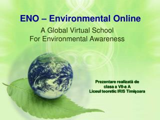 ENO – Environmental Online