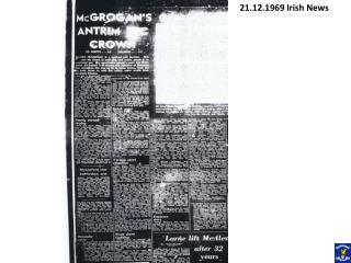 21.12.1969 Irish News