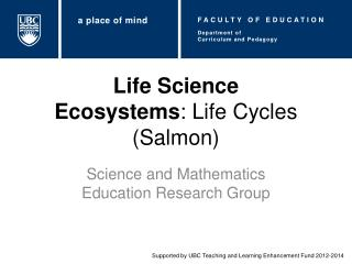 Life Science Ecosystems : Life Cycles (Salmon)