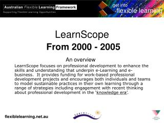 LearnScope From 2000 - 2005