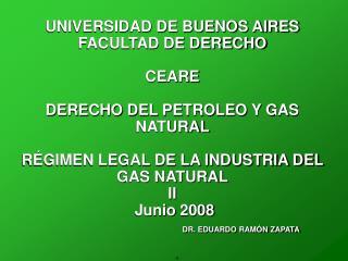 BREVE RESEÑA HISTORICA DEL GAS NATURAL EN BUENOS AIRES