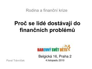 Rodina a finanční krize