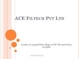 ACE Filtech Pvt Ltd