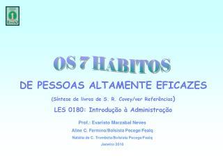 OS 7 HÁBITOS