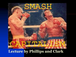 Lecture by Phillips and Clark