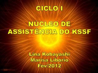 CICLO  I NÚCLEO DE ASSISTÊNCIA DO KSSF Lina  Kobayashi Marisa Liborio Fev/2012