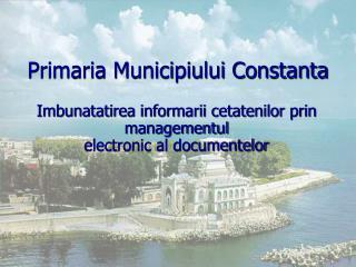 Primaria Municipiului Constanta