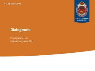 Dialogmøte