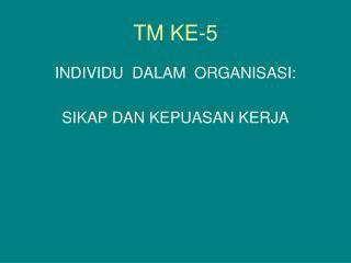 TM KE-5