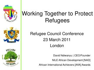 Working Together to Protect Refugees