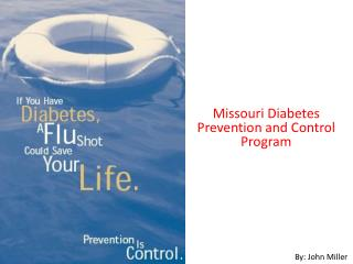 Missouri Diabetes Prevention and Control Program