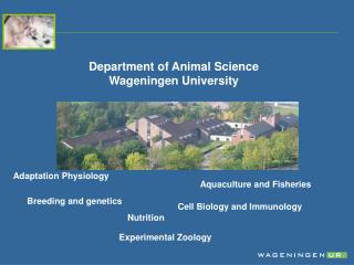 Breeding and genetics