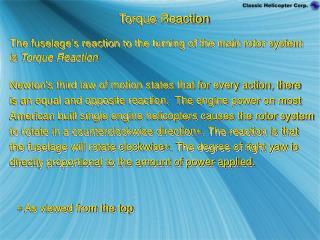 Torque Reaction