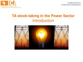 TA stock-taking in the Power Sector Introduction