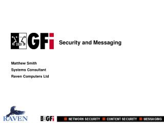 Security and Messaging