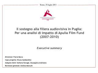 Roma, 25 luglio 2011