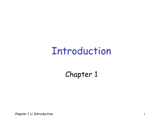 Chapter 1  Introduction to WAN