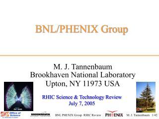BNL/PHENIX Group