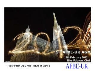 5 th  AFBE-UK AGM